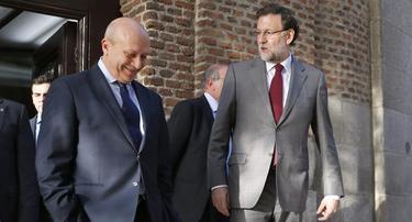 Mariano Rajoy y José Ignacio Wert | EFE