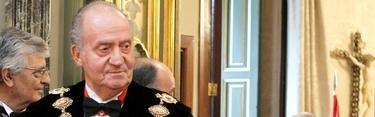 El Rey, en la apertura de la ño judicial. | EFE