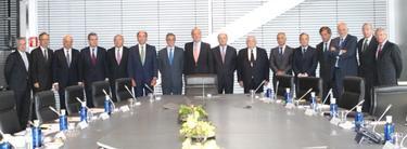 El Rey junto a los empresarios | Foto: Casa Real