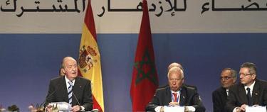 El Rey y los ministros Margallo y Gallardón | EFE