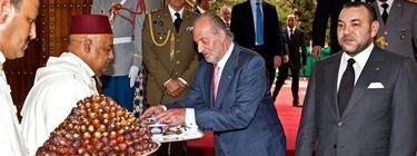 Juan Carlos I y Mohamed VI   Archivo
