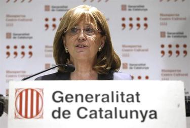 Irene Rigau en su comparecencia de este jueves en Madrid | EFE