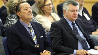Julián Muñoz y Juan Antonio Roca en una foto de archivo