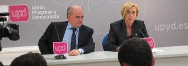 Rosa Díez y Carlos Martínez Gorriarán | Foto: UPyD