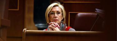 Rosa Díez, en el Congreso, hace unos días. | Cordon Press