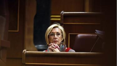La líder de UPyD, Rosa Díez.   Cordon Press