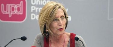 La portavoz de UPyD en el Congreso, Rosa Díez | Archivo