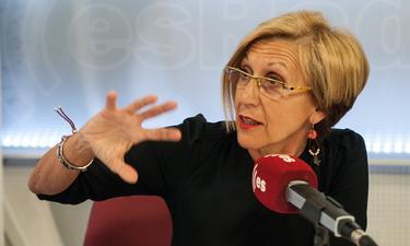 Rosa Díez, en una de sus visitas a Es la mañana de FJL | LD