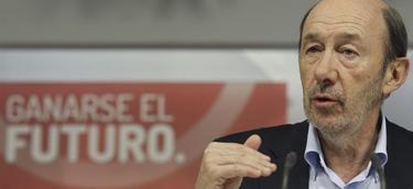 Rubalcaba, durante el Comité Federal | EFE