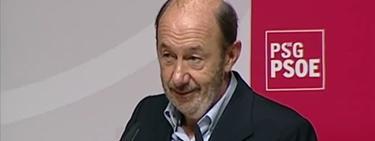 Alfredo Pérez Rubalcaba, este domingo en Galicia   Imagen TV