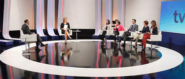 Rubalcaba, durante la entrevista en TVE | RTVE