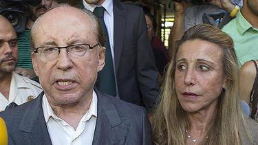 Ruiz-Mateos, llegando al juzgado | EFE-EFETV