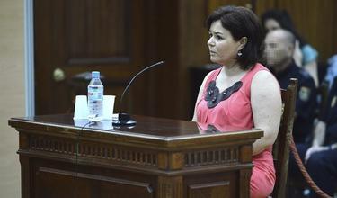 Ruth Ortiz durante el juicio | Archivo