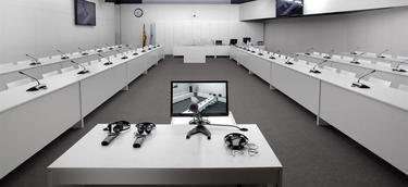 Sala en la que se producirá el juicio | EFE