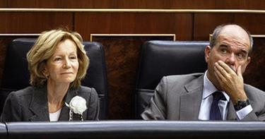 Salgado y Chaves, cuando aún pertenecían al Ejecutivo.