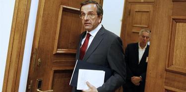El dirigente conservador Andonis Samarás | EFE
