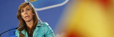 Sánchez Camacho en el mitin de cierre de campaña | Tarek