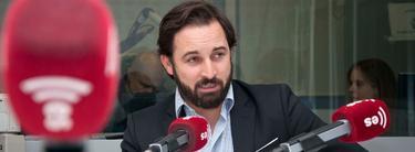Santiago Abascal en los estudios de esRadio | LD