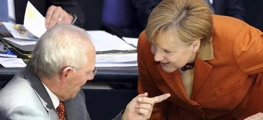 Schauble y Merkel | EFE