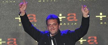 Sergio Massa, candidato opositor y ganador en Buenos Aires. | EFE