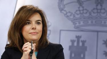La vicepresidenta, este viernes, al término del Consejo de Ministros | D. Crespo