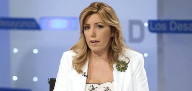 Susana Díaz, en 'Los desayunos de TVE'   Efe