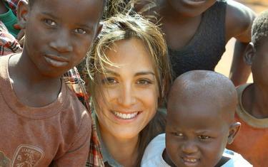 La popular Tamara, en un momento de su viaje | Europa Press