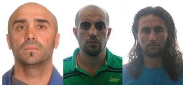 Los terroristas detenidos C.Y., A.A.A. y M.A. | Ministerio del Interior