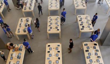 La nueva tienda Apple en Barcelona | Efe