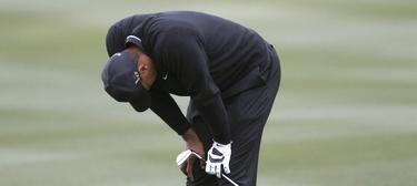Tiger Woods, tras quedar eliminado por Charles Howell III. | Cordon Press