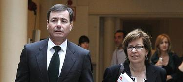 Tomás Gómez y Maru Menéndez | Archivo