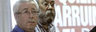 Fernández Toxo y Cándido Méndez en una imagen de archivo | EFE