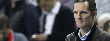 Iñaki Urdangarín acudió a ver a la selección española de balonmano | EFE