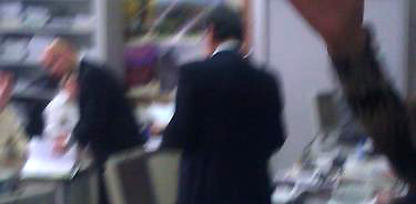 Los escoltas de Velázquez impidieron que fuera fotografiado en los juzgados. | LD