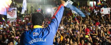 Nicolás Maduro, en Caracas | EFE