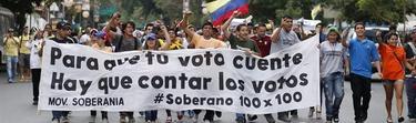 Protestas en Venezuela   EFE