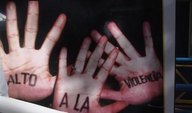 Manos contra la violencia