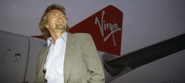 Richard Branson, presidente del Grupo Virgin   Corbis