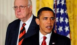 Paul Volcker, ex presidente de la FED y actual asesor de Obama | Archivo