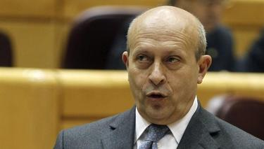 José Ignacio Wert este martes en el Senado | EFE