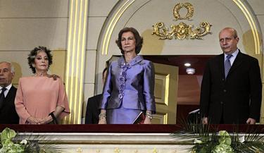 Teresa Berganza, la Reina y el ministro | EFE