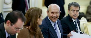 Wert, durante la reunión | EFE