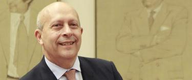 El ministro de Educación, José Ignacio Wert, en la Comisión de Educación I EFE