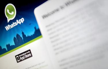 Sitio web de la aplicación de mensajería instantánea WhatsApp. | Cordon Press