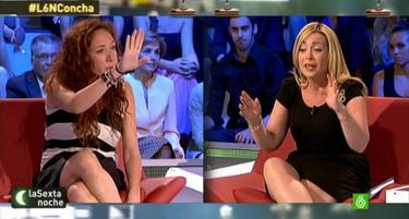 Paloma Zorrilla, a la derecha