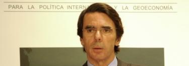 José María Aznar. | Archivo.