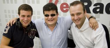 Óscar Blanco, Fernando Echeverría y David Miner.