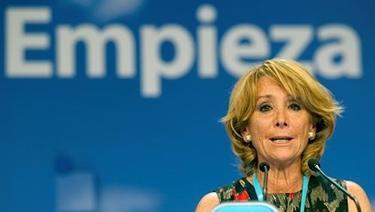 Esperanza Aguirre. | Archivo.