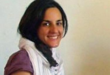 La cooperante española secuestrada Ainhoa Fernández