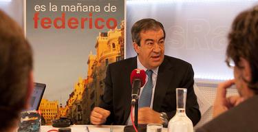 Álvarez Cascos, en una visita reciente a esRadio